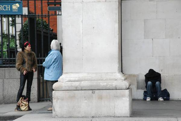 Homeless - Covent Garden, Londra